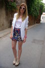 Beige-jeffrey-cambell-shoes-h-m-skirt-white-topshop-blazer-pink-casio-acce