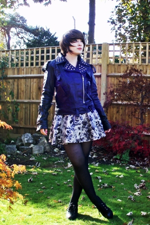 TKmaxx jacket - H&amp;M skirt - Office shoes