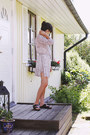 Periwinkle-anine-bing-dress-black-birkenstocks-sandals