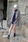 Gray-vintage-from-castaway-vintage-coat-blue-vintage-dress-black-vintage-boo