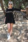 Black-betsey-johnson-luxe-dress-white-vintage-boots-white-forever-21-socks-