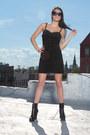 Black-vintage-dress