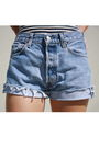Blue-levis-shorts-blue-american-apparel-top-brown-cynthia-vincent-target-sho