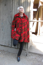 red vintage from Castaway Vintage jacket