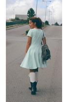 Primark bag - H&M dress - Primark socks