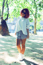 Aliexpress-boots-h-m-shorts-h-m-cardigan