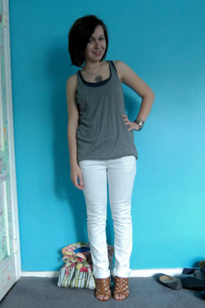 Target t-shirt - Old Navy t-shirt - Delias jeans - modcloth shoes - various acce