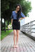 Black-antique-necklace-gray-modcloth-dress-gray-aldo-shoes