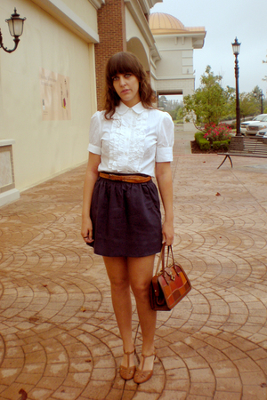 shirt - belt - skirt - shoes - purse