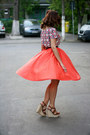 Brown-wedges-zara-shoes-hot-pink-suede-oasap-bag