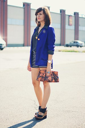 Steve Madden shoes - H&M blazer - Topshop shorts