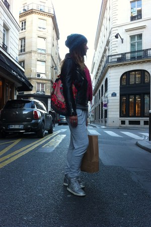 nike shoes - H&amp;M sweater - hippy market bag - Pimkie pants - Zara vest