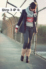 Heather-gray-forever21-shirt-brick-red-american-apparel-cardigan-blue-zara-b