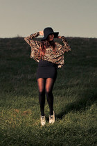 Mink Pink top - white patent Dr Martens shoes - Deena & Ozzy hat