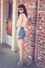 Vintage-shorts-chelsea-house-of-harlow-sunglasses-leopard-shoesone-wedges