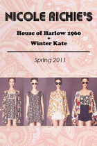 Nicole Richie's Winter Kate + House of Harlow 1960