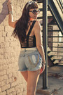 Slashers-diy-mink-pink-shorts-platforms-miista-shoes-motel-rocks-top