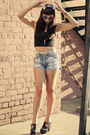 Platforms-miista-shoes-slashers-diy-mink-pink-shorts-motel-rocks-top