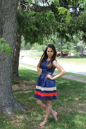 navy TJ Maxx dress