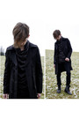 Black-ann-demuelemeester-top-black-unknown-coat-black-river-island-boots