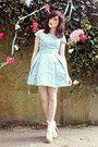 Light-blue-debutante-style-topshop-dress