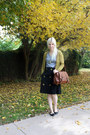 American-apparel-shirt-jcpenney-purse-modcloth-necklace-lulus-skirt