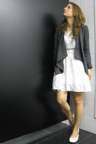 Zara blazer - asoscom dress - H&M shoes