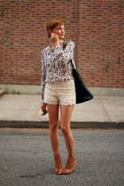 Zara shorts - Forever 21 blouse