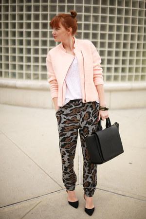 Zara bag - H&M Trend blazer