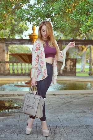 Celine bag - Hot Miami Styles cardigan