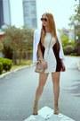 Hot-miami-styles-dress-marciano-blazer-rebecca-minkoff-bag
