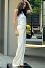 Off-white-oversized-zara-jacket-ivory-wide-leg-alberta-ferretti-pants