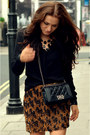 Black-silk-loose-zara-shirt-black-boy-flap-chanel-bag