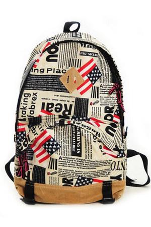 унисекс флаг США рюкзак.