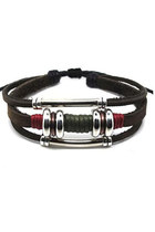 leather  hemp bracelet