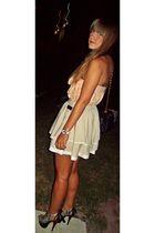 Zara top - Topshop skirt - shoes - Chanel bag