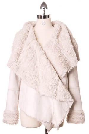 faux fur Chicwish jacket