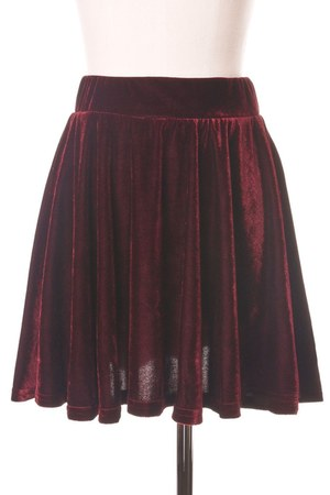 velvet Chicwish skirt