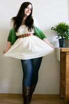 white Ebay skirt