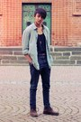 Gracia-boots-zara-jeans-h-m-shirt-weekday-top-zara-belt