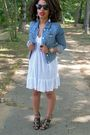 Blue-american-eagle-jacket-black-h-m-shoes-passport-dress