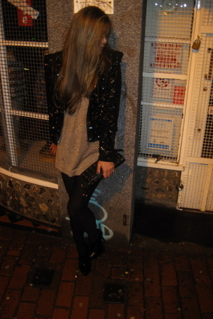 black Topshop jacket