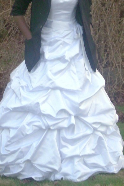 Davids Bride on Black Blazers  White Davids Bridal Dresses    My Debutante Dress  By