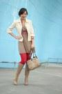Camel-charles-david-boots-camel-francescas-collections-dress