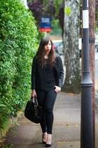 black Claire Beneteau bag