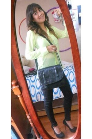 Carpisa bag - Bershka blouse - Bershka pants