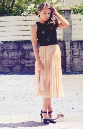 light pink Mango skirt