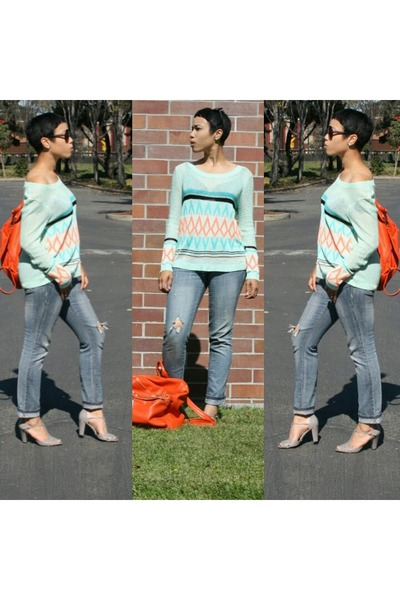 aquamarine knitsweater ClosetPiece sweater
