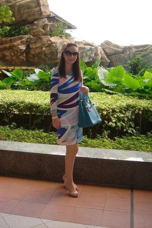 Emilio Pucci dress - Miu Miu shoes - Hermes purse - H&M accessories