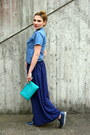 Teal-keys-shoes-sky-blue-carrera-shirt-turquoise-blue-occhiblu-bag